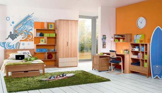 Elige el color del cuarto de tu hijo segun su personalidad - Colores habitacion nino ...