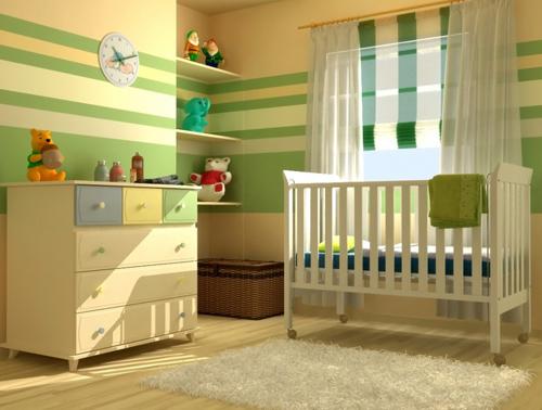 Consejos para decorar el cuarto del bebe casa fija - Cortinas para habitacion bebe ...